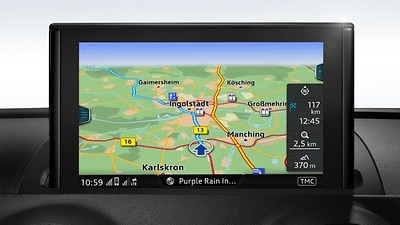 MMI navigation Plus with MMI touch®