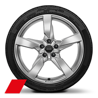 "19"" x 9J '5-arm polygon' style with 245/35 R19 tyres"
