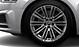 Aluminium-Gussräder Audi Sport im 10-V-Speichen-Design, Größe 8,5 J x 19, mit Reifen 255/35 R 19