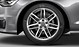 Audi Sport cast aluminium alloy wheels, 7 twin-spoke design, size 8 J x 18, 245/45 R 18 tyres