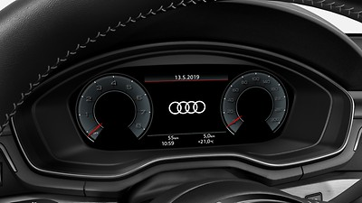 Audi virtual cockpit plus