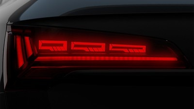 OLED rear combination lamps with specific rear position light signature 2