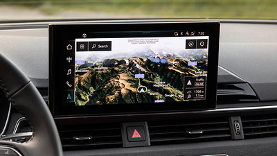 MMI Navigation Plus met MMI Touch