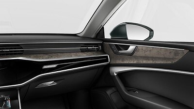 Decorative inserts in wood, Audi exclusive