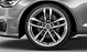 Audi Sport cast aluminium alloy wheels, 5 twin-spoke design, size 8.5 J x 20, with 255/35 R 20 tyres