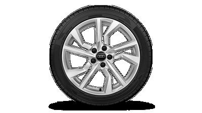 Leichtmetallräder, 5-Speichen-Y-Design, 8,5 J × 18, Winterreifen 245/40 R 18