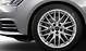 Audi Sport cast aluminium alloy wheels, 10-Y-spoke design, size 8J x 18, with 245/40 R18 tyres
