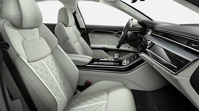 Audi design selection Pastel Silver
