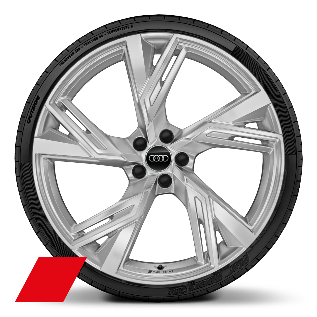 "22""x10.5J-5-V-spoke structure style"