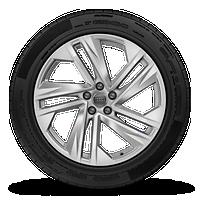 "20"" 5-spoke-turbine design wheels"