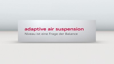 Mukautuva ilmajousitus, adaptive air suspension