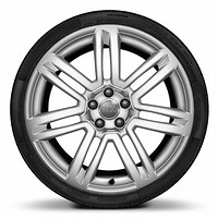 R20 x 9.0J '7-twin-spoke' design alloy wheels with 275/35 R20 tyres