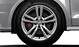 Cast aluminium alloy wheels, 5 parallel-spoke design, (S design), size 7.5 J x 17, with 215/40 R 17 tyres