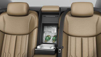 Refrigerator incl. bar compartment, Audi exclusive