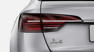 Audi Matrix LED headlights with LED rear lights and dynamic front and rear indicators
