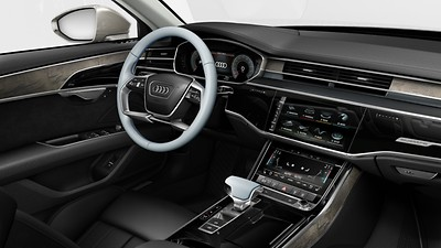 Commandes en cuir Audi exclusive