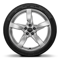 19x9J 5-arm polygon style alloy