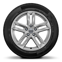 "17"" x 7.5J '5-parallel spoke' design alloy wheels with 225/50 R17 tyres"