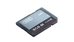 Audi SD card, 8 GB