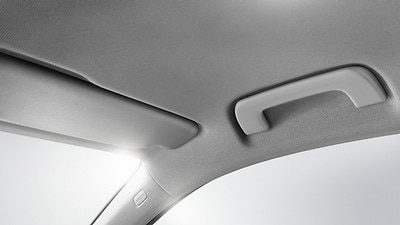 Headliner in Rock Gray fabric