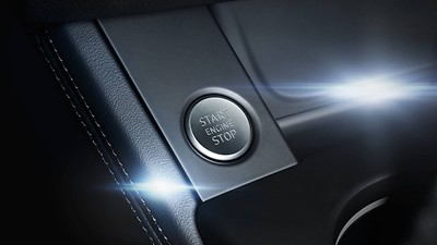 Audi advanced key with start button