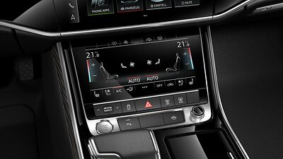 Four-zone climate control system Plus
