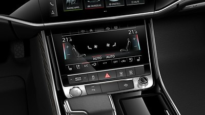 Four-zone climate control system