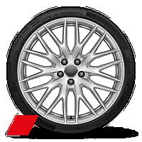 "20"" Audi Sport® 10-Y-spoke design forged wheels"