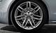 Aluminium-Gussräder Audi Sport im 7-Doppelspeichen-Design, Größe 9 J x 19, mit Reifen 255/35 R 19