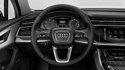 Heated steering wheel 3-spoke with multi-function