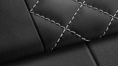 Diamond Quilted Leather Package