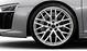 Кованые алюминиевые диски, дизайн «10 спиц Y», полированные, размер 8,5J x 20 спереди и 11J x 20 сзади