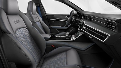 Styling package in Jet Gray-Ocean Blue, Audi exclusive