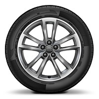 "17"" x 7.5J '5-arm cavo design' alloy wheels with 215/40 R17"