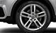 Легкосплавные диски Audi Sport, дизайн «5 двойных спиц», размер 7J x 18