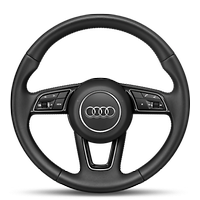Three-spoke multifunction steering wheel