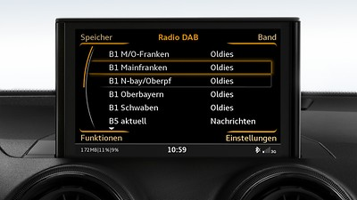 MMI Radio plus