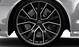 Легкосплавные диски, дизайн «5 спиц V», черные блестящие, размер 9,5J x 21