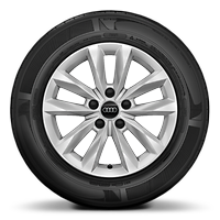 Alloy wheels, 5-double-arm, 7.0J x 16, 205/55 R16 tires