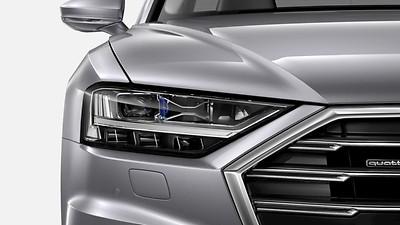 HD Matrix-LED-Scheinwerfer mit Audi Laserlicht