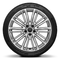 "19"" x 8.5J '10-V spoke' design alloy wheels with 245/35 R19 tyres"