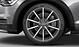 Легкосплавные диски Audi Sport, дизайн «10 спиц», titan matt, с полированной обводкой, размер 8,5J x 19
