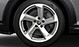 Audi Sport cast alum. alloy wheels, 5-arm turbine des., magnesium look, mach. pol., 7.5J x 18, 245/45 R18 tyres