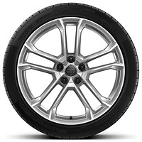 '5-arm V-spoke design' alloy wheels  (R19 x 8.5J 245/35 front tyres and R19 x 11J 295/35 R19 rear tyres) (Optional)