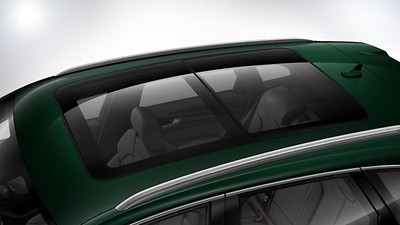 Electric panoramic glass sunroof