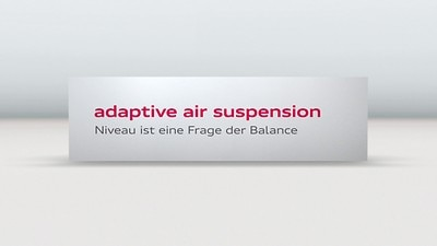Adaptive air suspension
