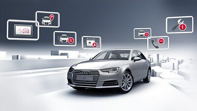 Audi connect assistance and security services