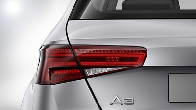 LED rear lights with dynamic indicators