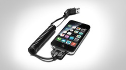 Adattatore USB, per telefoni cellulari con connettore Apple Dock