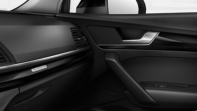 Decorative inserts in Black Piano Lacquer, Audi exclusive